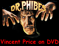 Vincent Price on DVD